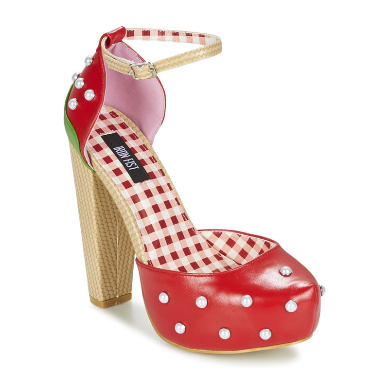 Strawberry shoes by Iron Fist