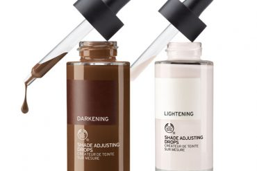 Body Shop Shade Adjusting Drops - change your foundation shade to perfectly match your skintone