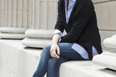 """the best jeans for people who don't like the """"leggings"""" look"""