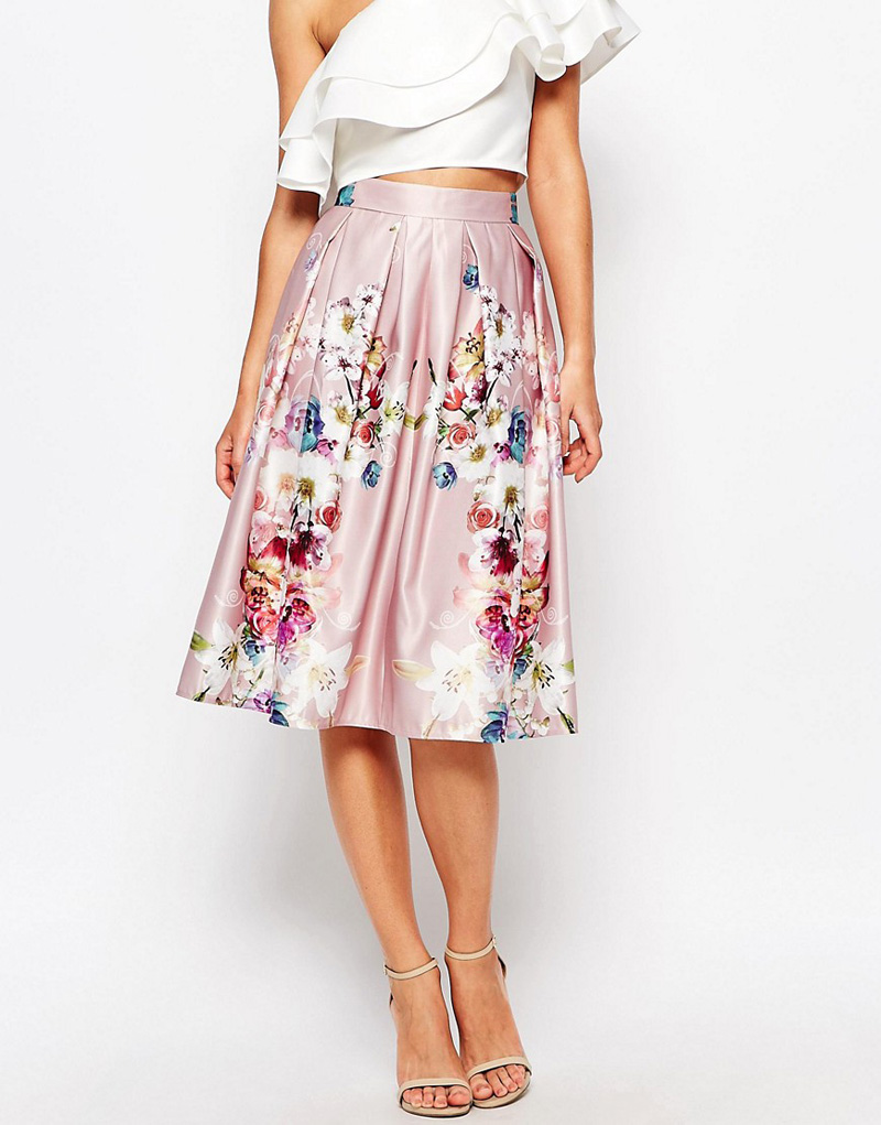 five on friday floral midi skirts gt shoeperwoman
