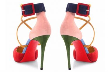 Christian Louboutin multicolour pumps