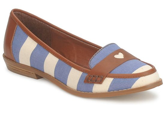 nautical inspired loafer shoes