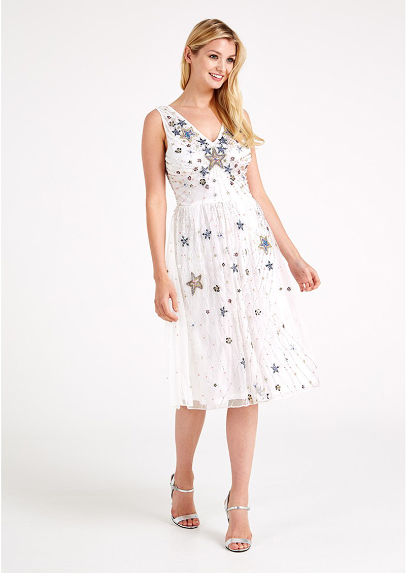 Frock and Frill sequin embellished dress