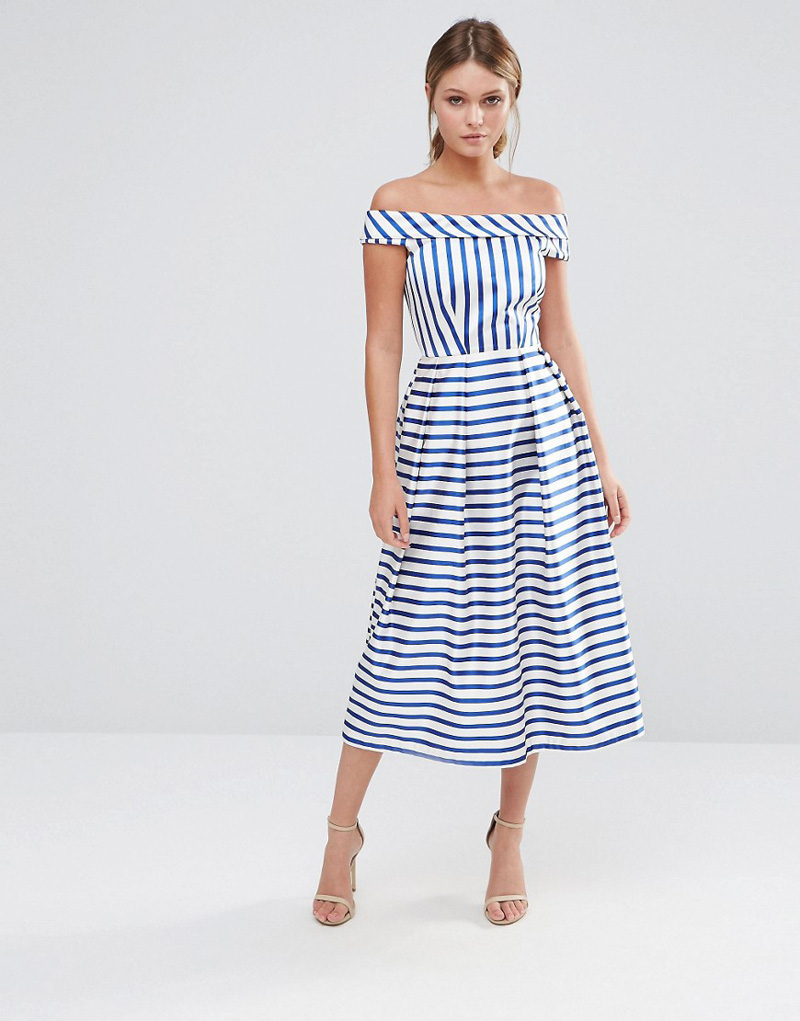 stripe closet dress