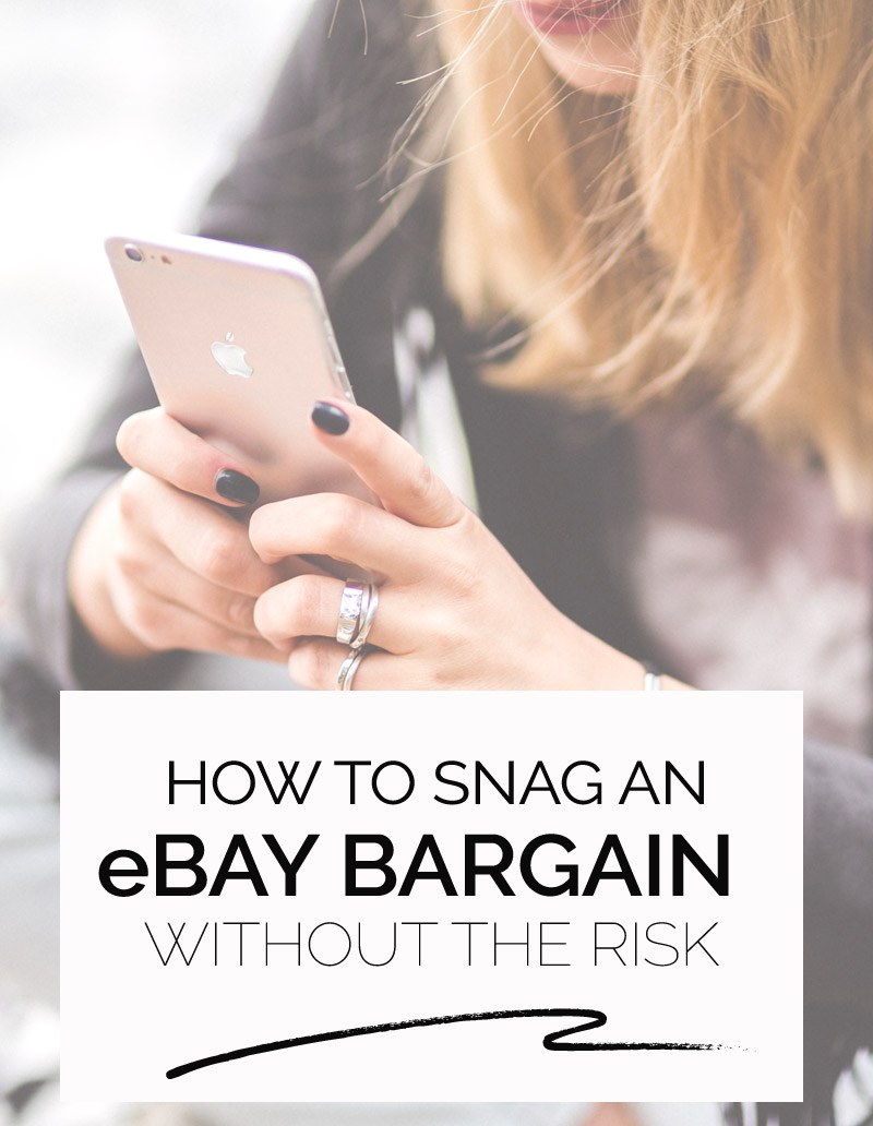 a guide to ebay shopping without the risk
