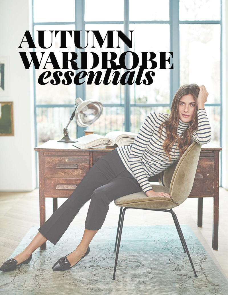 Autumn wardrobe essentials: a checklist of items to have in your closet for autumn