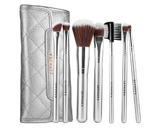Sephora antibacterial makeup brush set