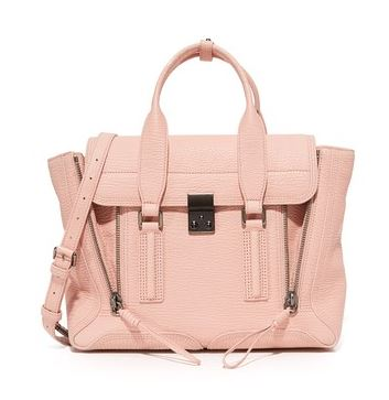 Pink Pashli satchel by Philip Lim