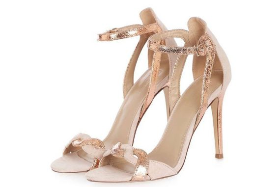 Topshop Masquerade two-part sandals