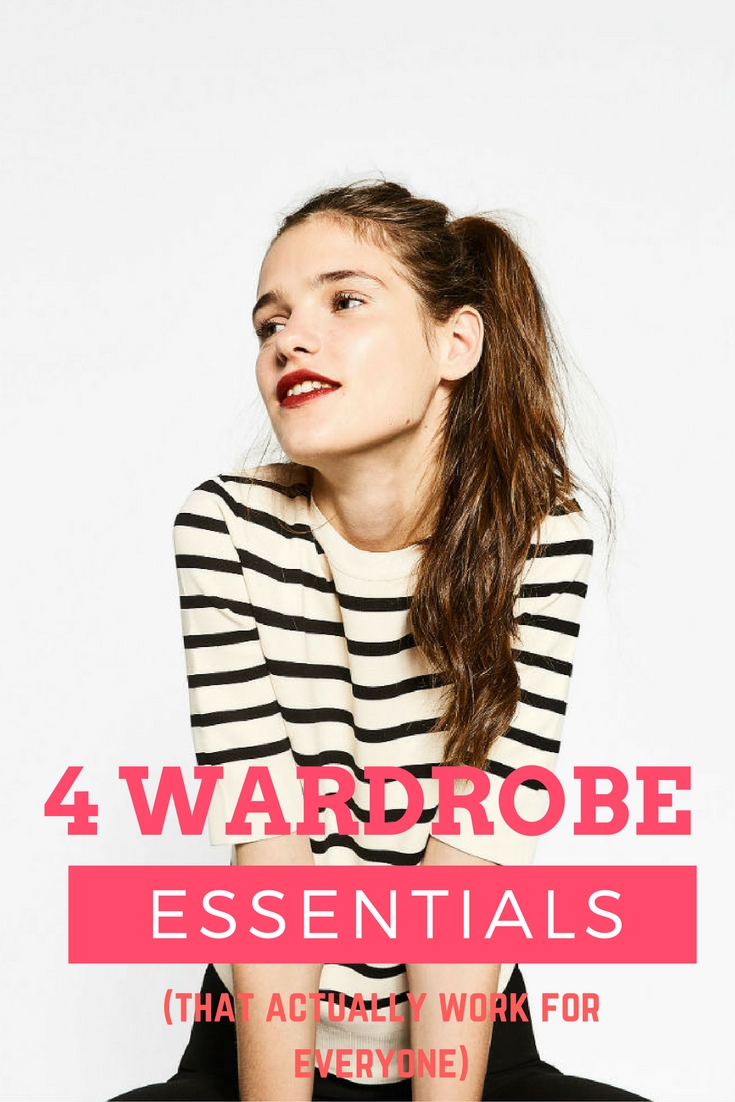 4 wardrobe essentials that actually do work for everyone