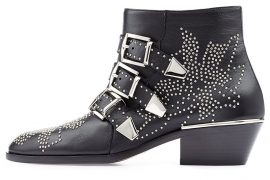 Chloe studded ankle boots