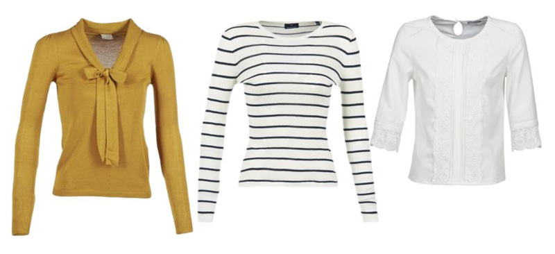 three tops to wear with jeans