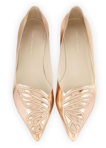 Sophia Webster Bibi Butterfly Embroidered Flats