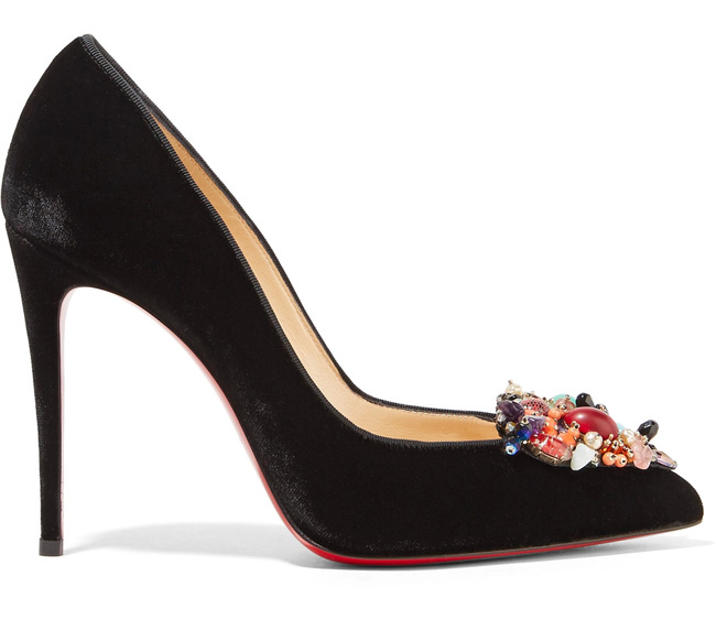 Christian Louboutin Ivy Cora heart pumps