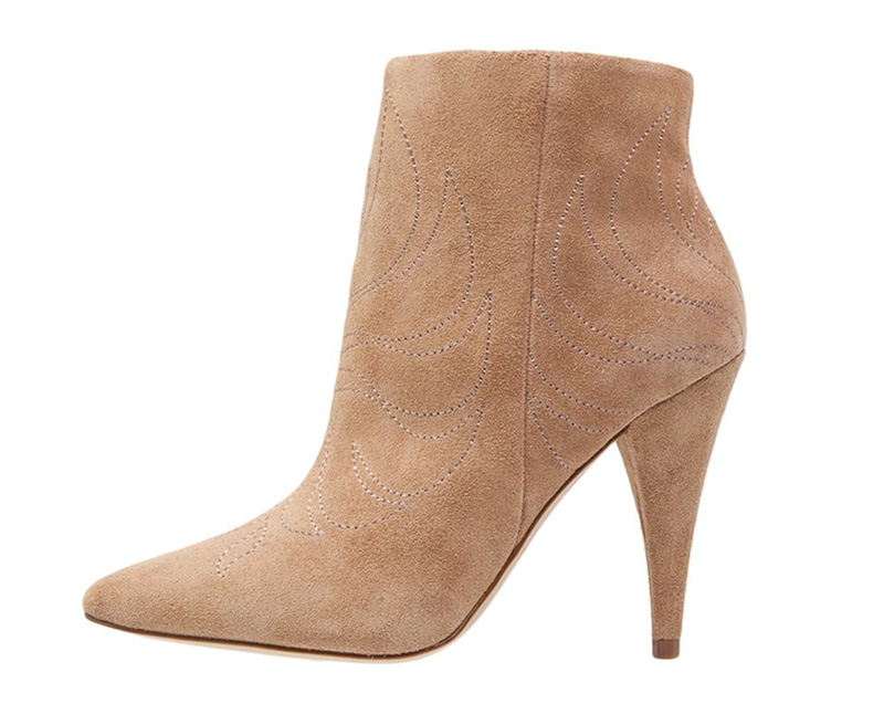 Aldo suede western=style ankle boots