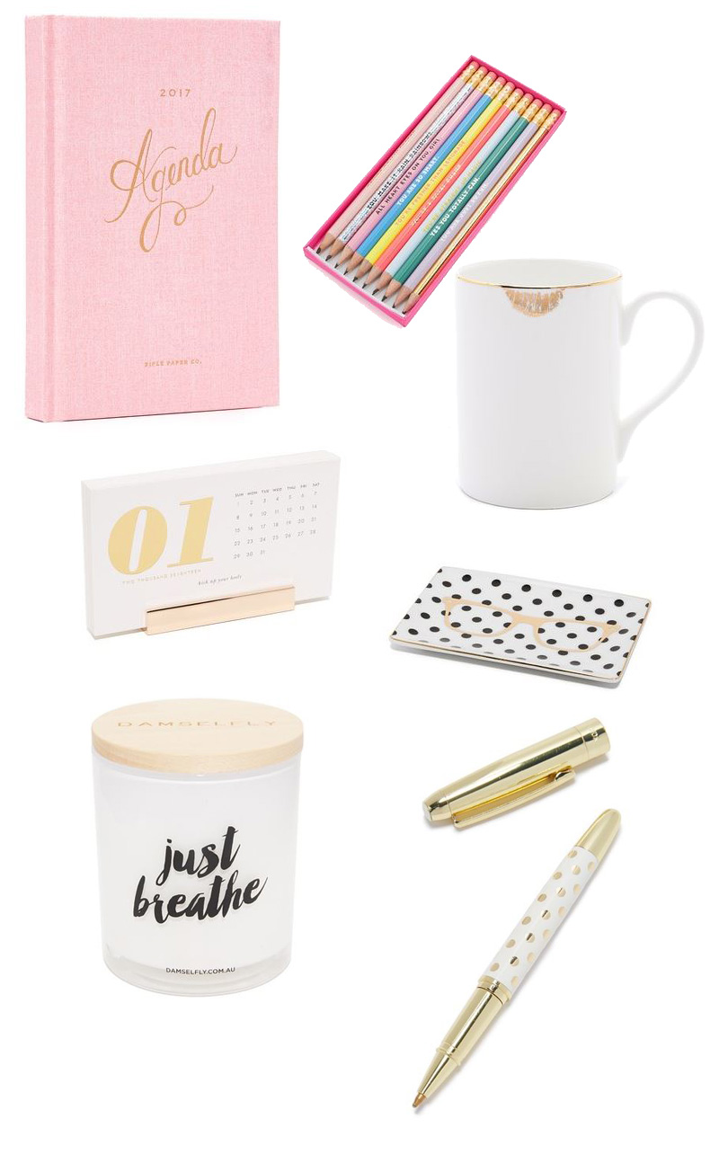 7 ways to pretty up your desk
