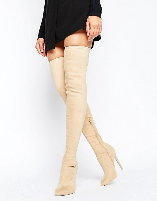 ASOS Camber Stretch over-the-knee boots