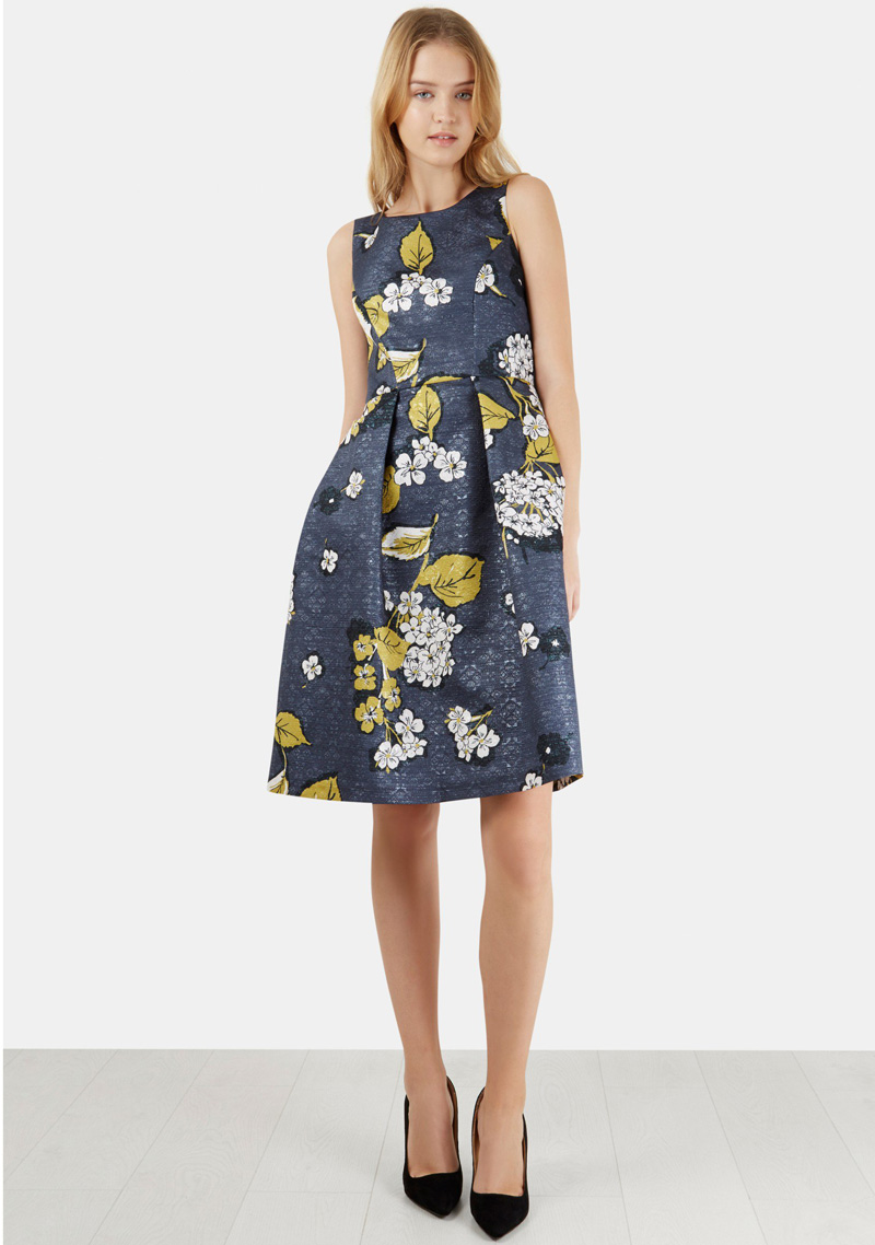 Closet London floral full skirt