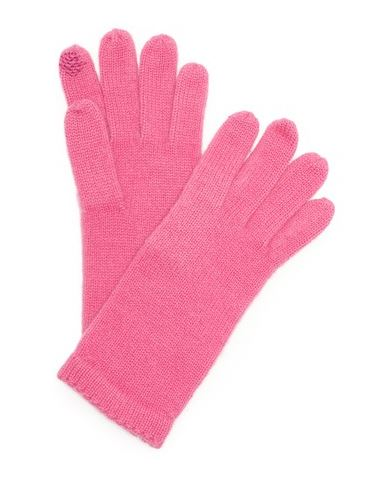 bright pink texting gloves