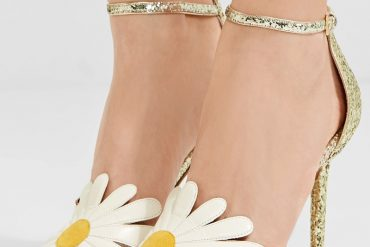 Charlotte Olympia Margherite Daisy Sandals