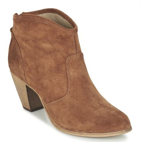 Betty London Brown ankle boots