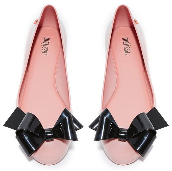 Vivienne Westwood for Melissa Space Love Ballet Flats