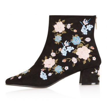 adec52ee523f Flower power at Topshop · Read More · Topshop Hollywood sock boots