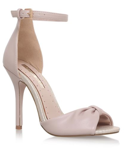 Kurt Geiger 'Sara' nude high heel sandals