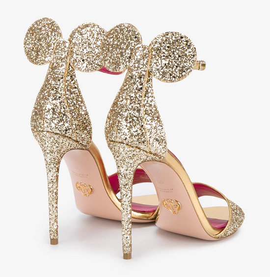 Oscar Tiye glitter Minnie Sandals