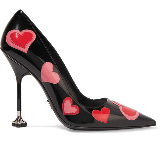 Prada heart shoes