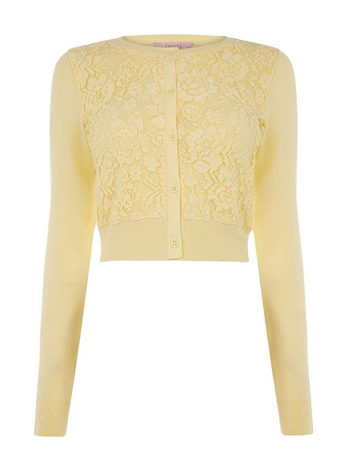 Oasis lace front cardi
