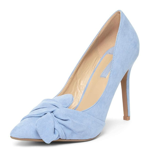 Dorothy Perkins 'Gotcha' twisted bow court shoes