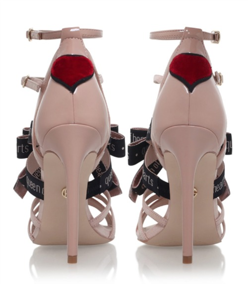 Kurt Geiger Hearts strappy sandals