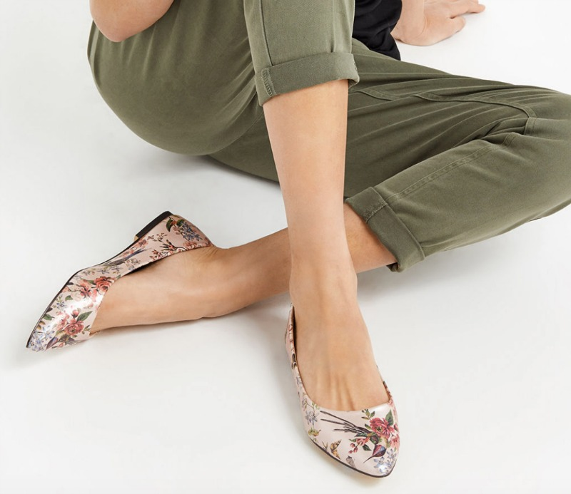 Oasis Royal Worchester Ballet Flats