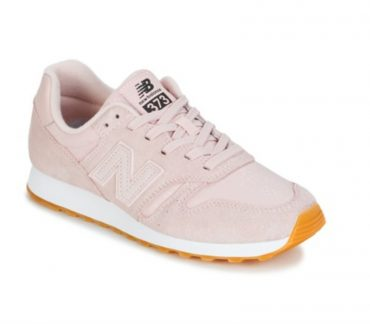 New Balance baby pink sneakers