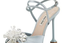 Miu Miu Forma Crystal-Embellished Sandals