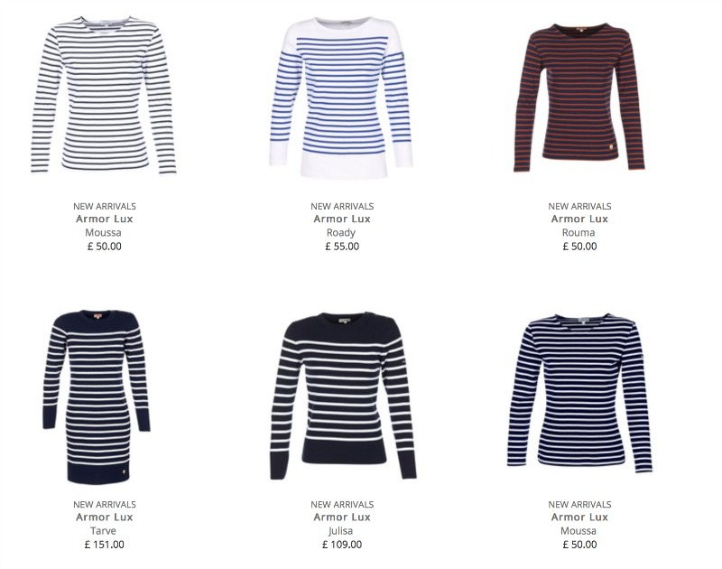 Breton stripes fashion trend