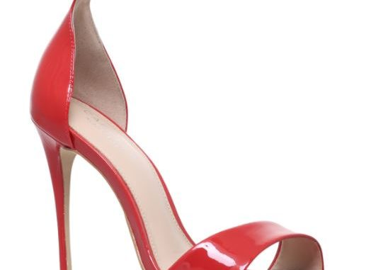 Carvela Kurt Geiger red patent 'Glimmer' sandals