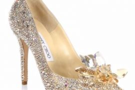 Jimmy Choo Crystal Suede Point Toe Pumps