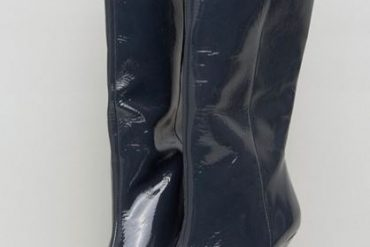 ASOS CABANA Leather Patent Knee High Boots