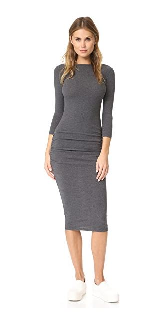 grey James Perse dress
