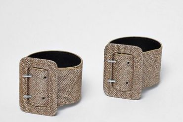 River Island removable ankle straps