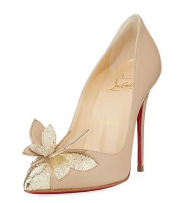 162ac16ea8c Christian Louboutin Maripopump Butterfly Red Sole Pumps
