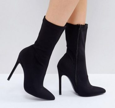 Shoe Review: Truffle Collection Stiletto Sock Boots