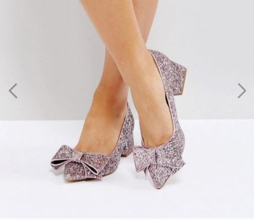 78ffcd4b7bb6 ASOS SACRED Wide Fit Bow Mid Heels