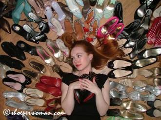 Shoeperwoman's shoe collection