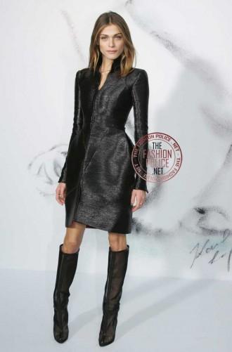 Elisa Sednaoui in Christian Louboutin boots