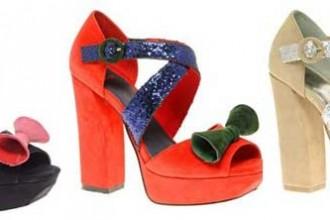 ASOS colourblock sandals