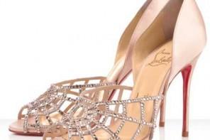 Chrstian Louboutin cobweb shoes