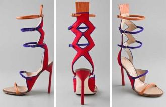 Tribal sandals by Proenza Schouler